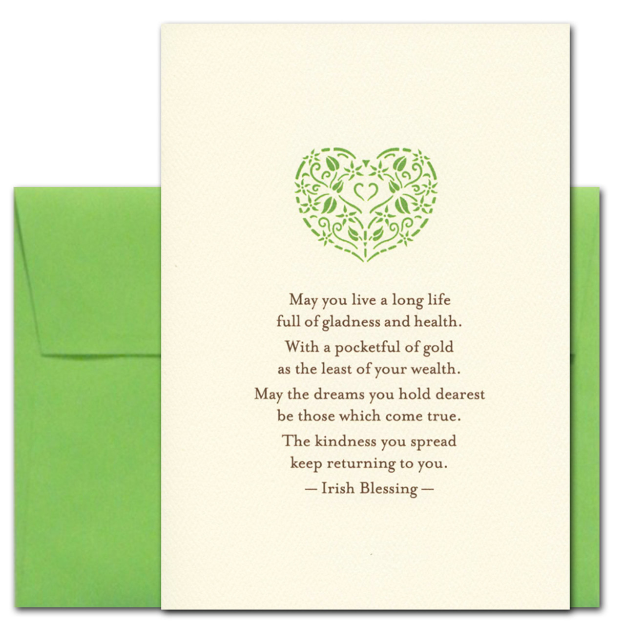 Cover of Business Saint Patrick's Day Card - Long Life