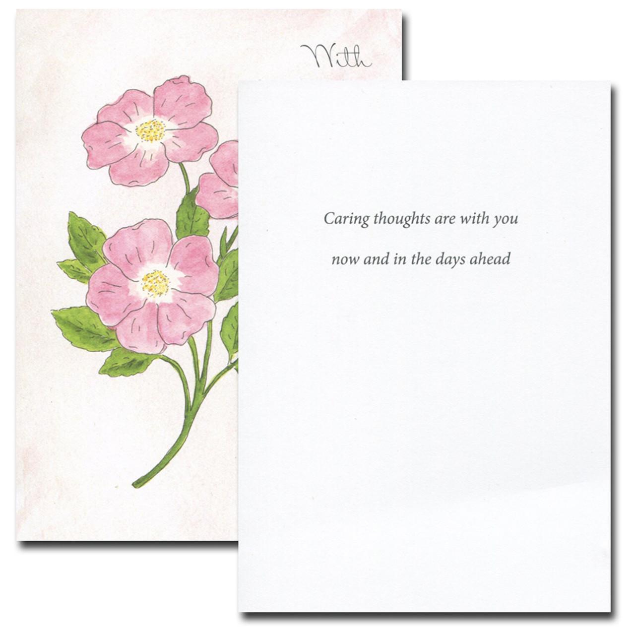 Sympathy Card: Sweet Briar