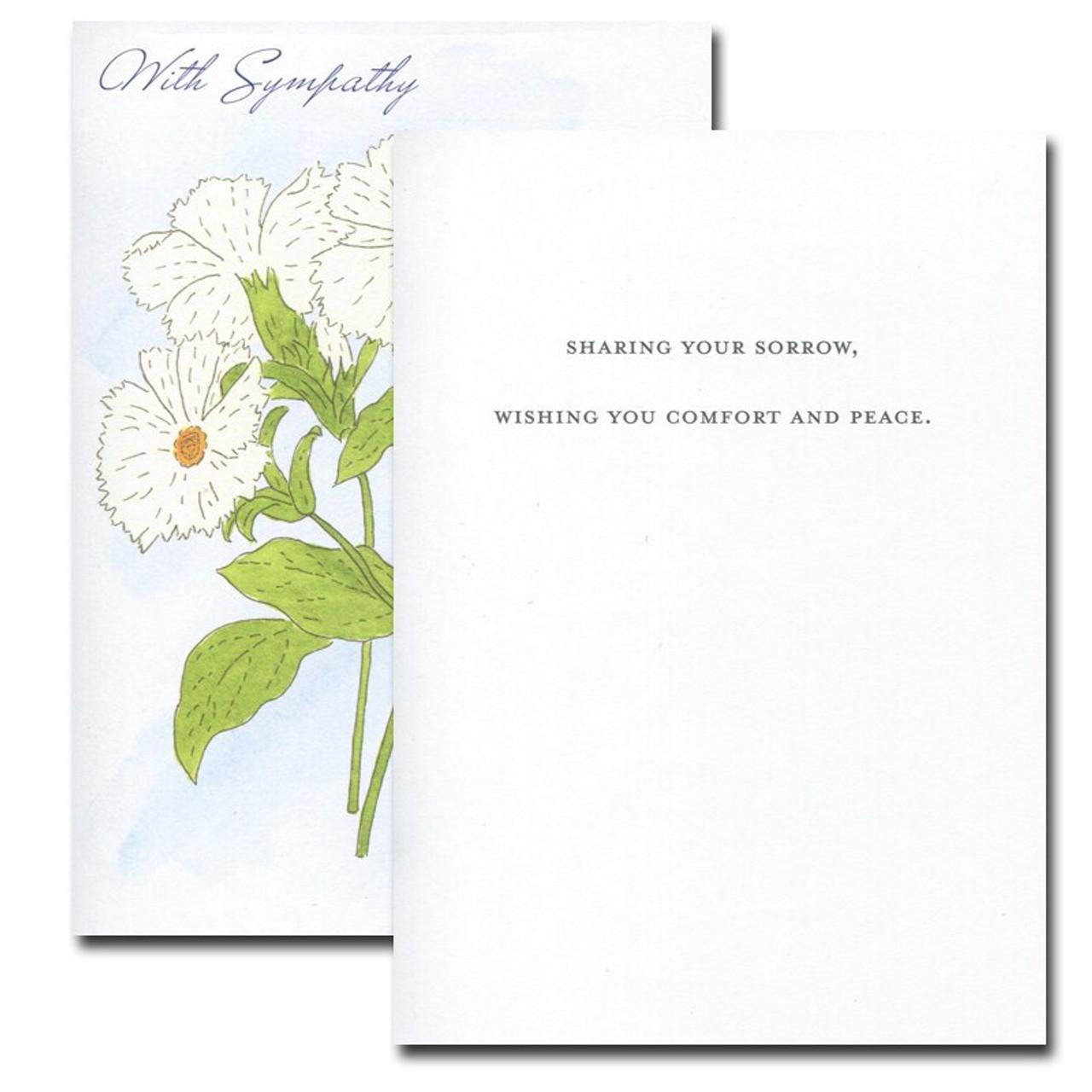 Sympathy Card: Campion