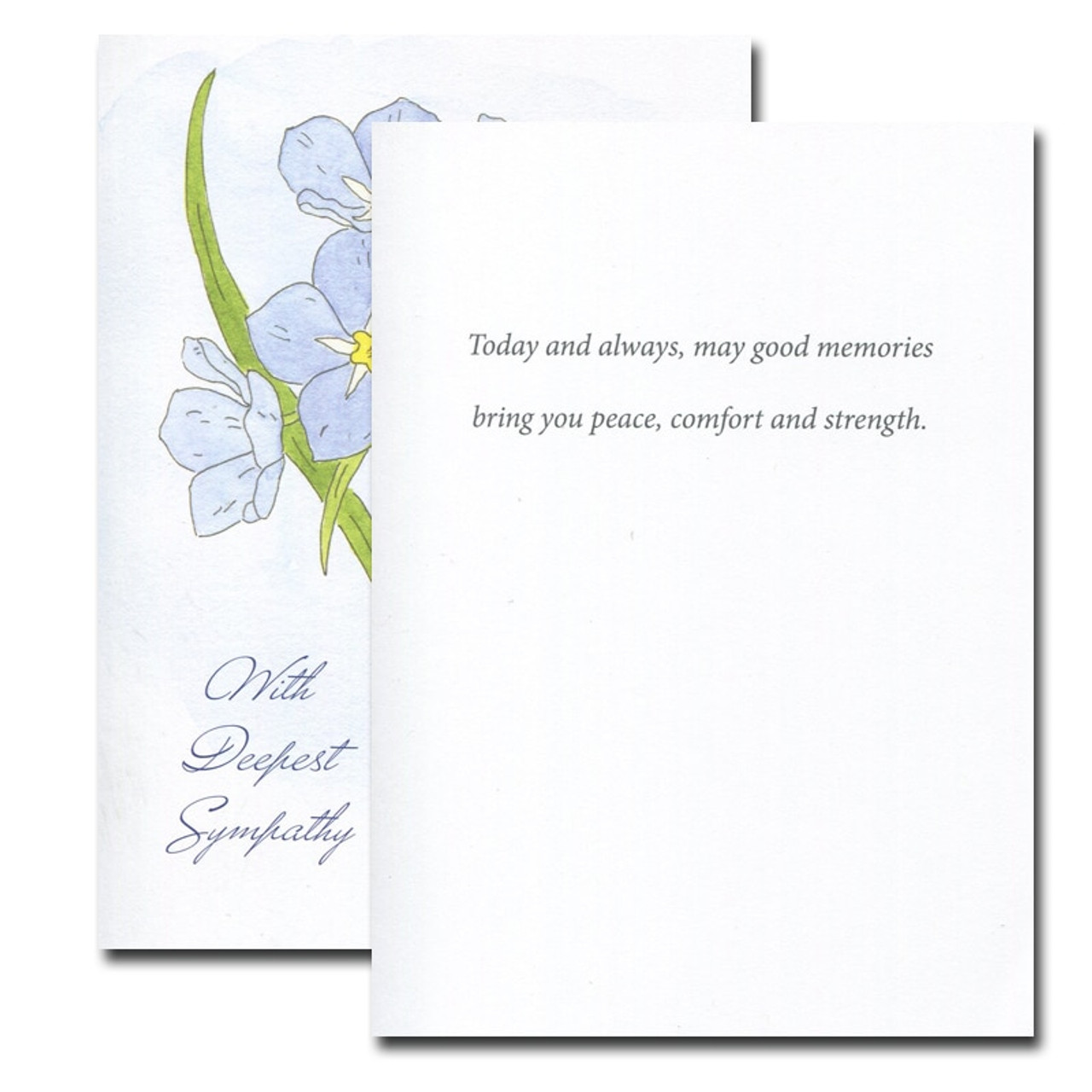 Sympathy Card: Forget-Me-Not