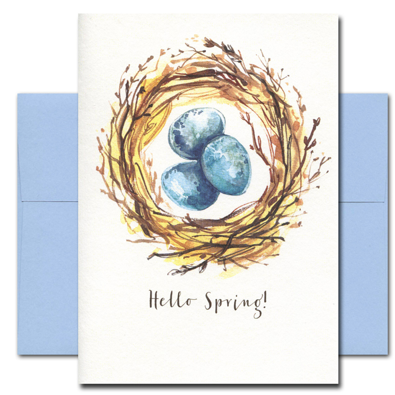 Springtime Nest card