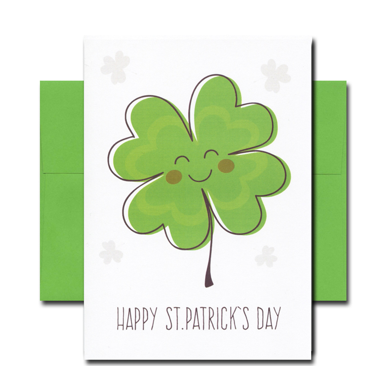 Happy Shamrock St. Patrick's Day Card