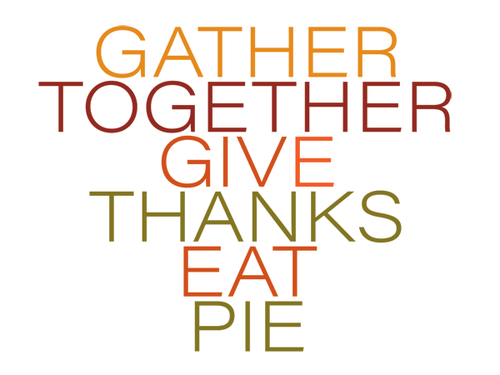 Thanksgiving: Gather