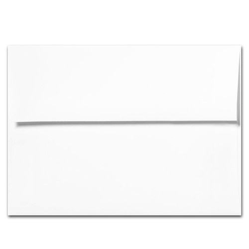 White A7 Envelope