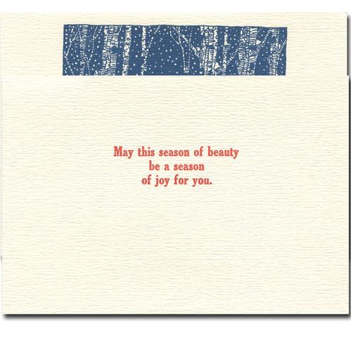 Snow Fox inside: May this season of beauty  be a season of joy for you