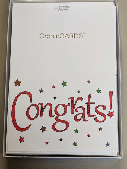 Congratulations Cards in box