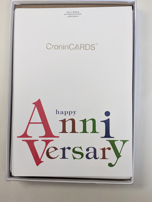 Anniversary Cards boxed