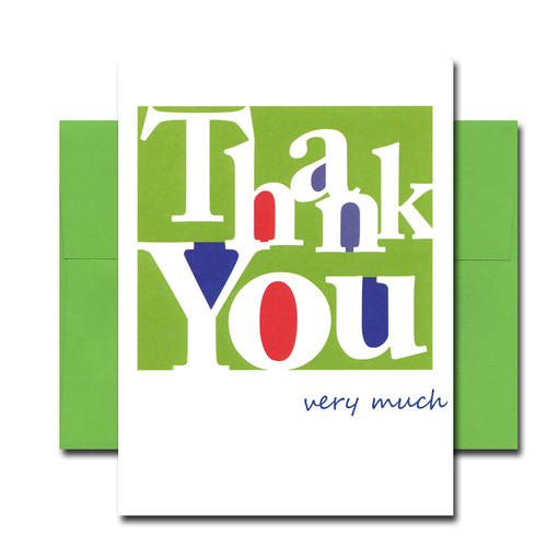 Boxed BusinessThank You Note Card - Simply Stated