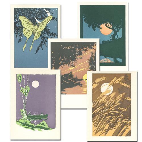 Summer Moons Assortment from Saturn Press