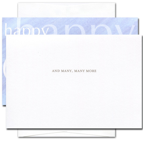 Birthday Cards: Happy Happy Birthday - box of 10 cards & envelopes