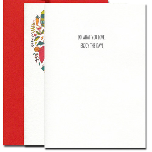 Valentine Cards: Enjoy the Day - box of 10 cards & envelopes