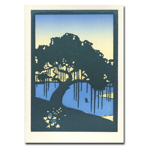 Saturn Press All Occasion Card: Live Oak