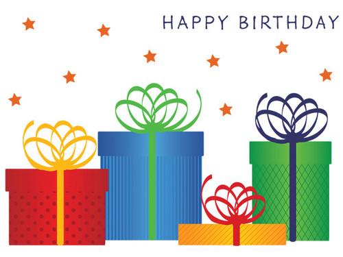 Birthday: Packaged Greetings