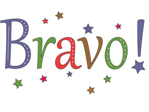 Congratulations: Bravo