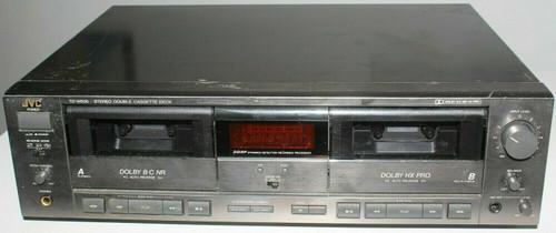 JVC TD-W505 Dolby B&C HxPro Cassette Deck  Auto Reverse Deck - Used  01299