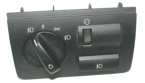 BMW X5 E53 HEADLIGHT LIGHTING CONTROL SWITCH BEZEL  - Used