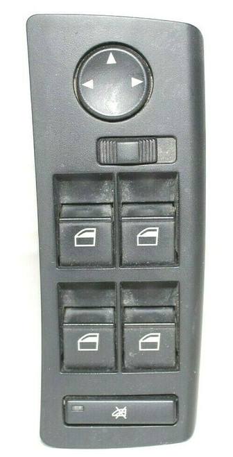 BMW E53 X5 Front Left Driver Side Door Master Power Window Switch Control - Used