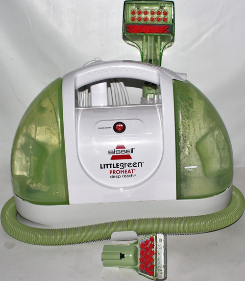 Bissell Little Green Proheat Deep Reach 50Y6 Vacuum Cleaner - Used  01899