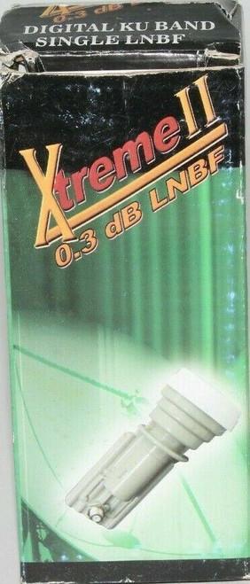 Xtreme II FTA Universal Single Ku Band LNBF 0.3dB Satellite LNB  Linear -  OB