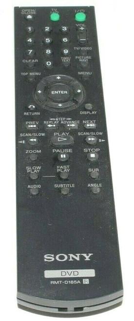 Sony RMT-D185A DVD Remote Control DVP-NS708H DVP-NS700H DVP-NS57P - Used