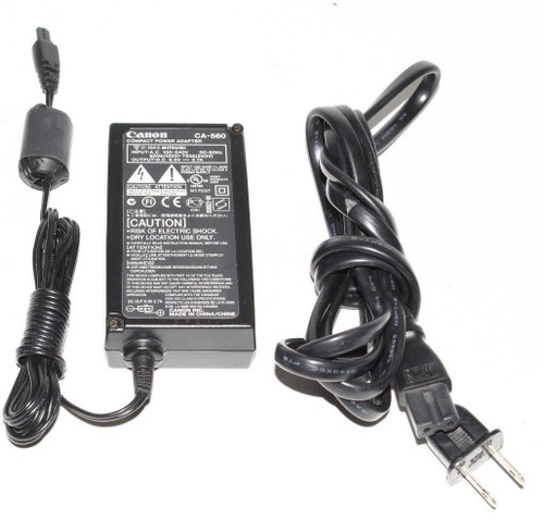 Canon CA-560 AC Adapter 3 Prong Female 120/240 VAC 9.5VDC - Used