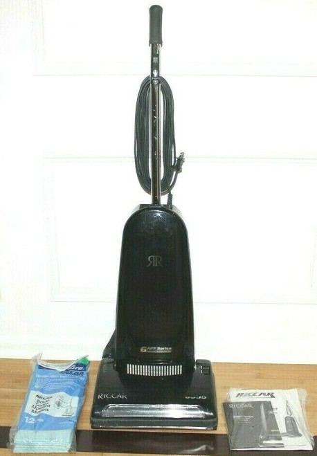 Riccar 8955 All Floor Upright Vacuum Cleaner with Attachments - Used   01799
