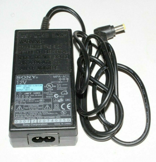 Sony MPA-AC1  Adapter Power Supply Charger for  DRX-530UL EVI-D70 Camera - Used