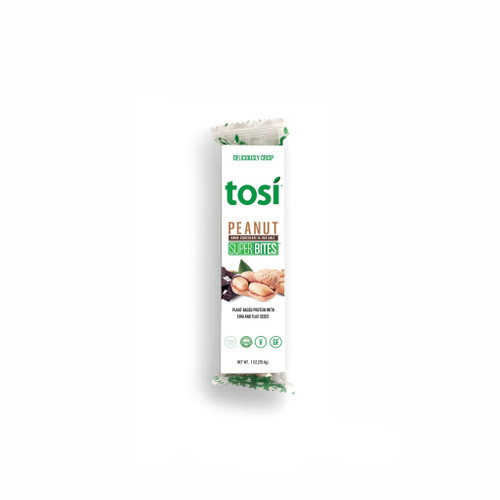 Tosi SuperBites Singles - Peanut Chocolate - 12 pack | 2.4 oz. bars