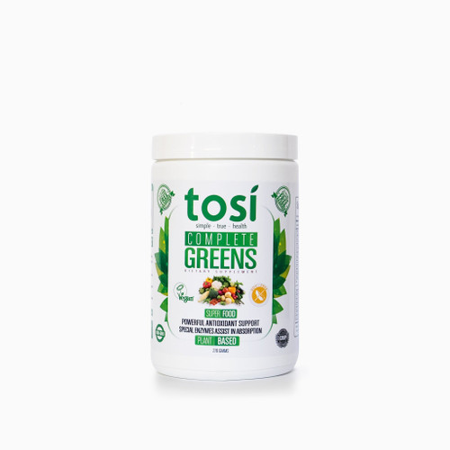 Tosi Complete Greens - Ultra-high Antioxidant Powder Drink -  20 Servings