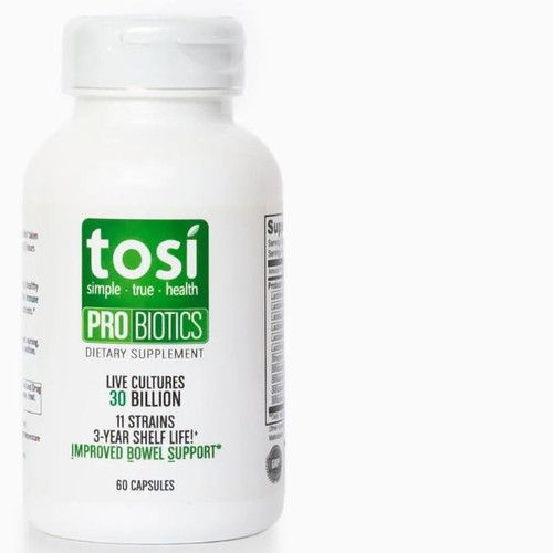 Tosi Probiotics - Optimal Intestinal & Digestive Function - 60 counts