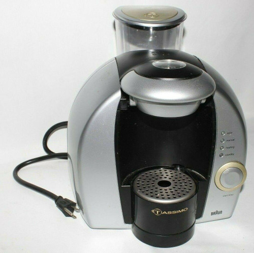 Braun Tassimo 3107 T-Disc Brewing System One Cup Coffee Maker - Used