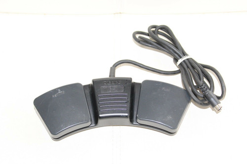 SONY FS-25 Foot Pedal for M2000 Cassette Dictation Transcriber Recorder - Used
