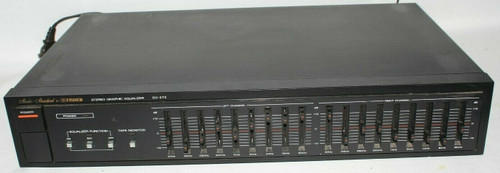 Fisher 9 Band Stereo Equalizer EQ-273 - Used