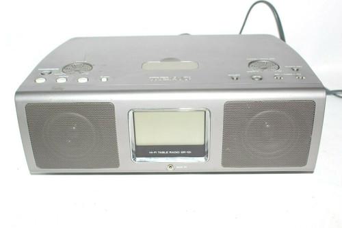 TEAC HI-FI TABLE RADIO GR-10I AM/FM with  IPOD DOCK - Used