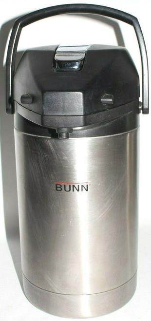 Bunn 32125.0000 2.5 - Action Lever-Liter Airpot, Stainless Steel - Used