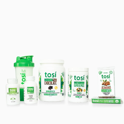 Tosi QuickStart Kit - Vanilla/ Chocolate - 30 day Supply