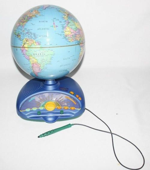 Quantum Leap Frog Explorer Interactive Talking Smart Globe Eureka Challenge- Use