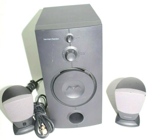 Harmon Kardon HK395  PC Speaker 2.1 Subwoofer and 2 Speakers - Used