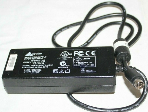 Sunfone ACU057A-0512 GP-ACU057A-0512 AC DC Adapter Power Supply - Used