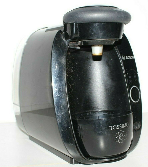 Bosch Tassimo TAS2002UC T20 Single Serve Beverage System-Black - Used