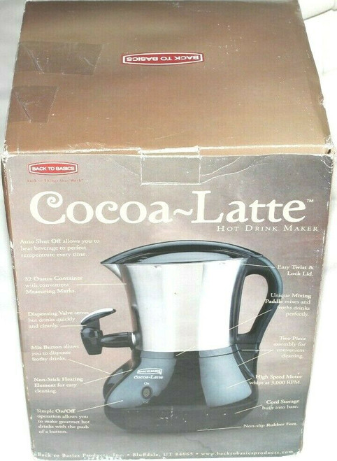 Cocoa-Latte CM300BLSS Hot chocolate cappuccino Hot Drink Maker Dispenser - New