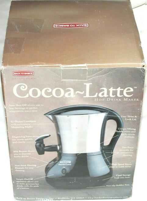 Cocoa-Latte CM300BLSS Hot chocolate cappuccino Hot Drink Maker Dispenser - New