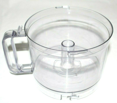 Braun Multipractic Food Processor 500 ml Work 4258- 61- 62 Bowl Only Parts -Used