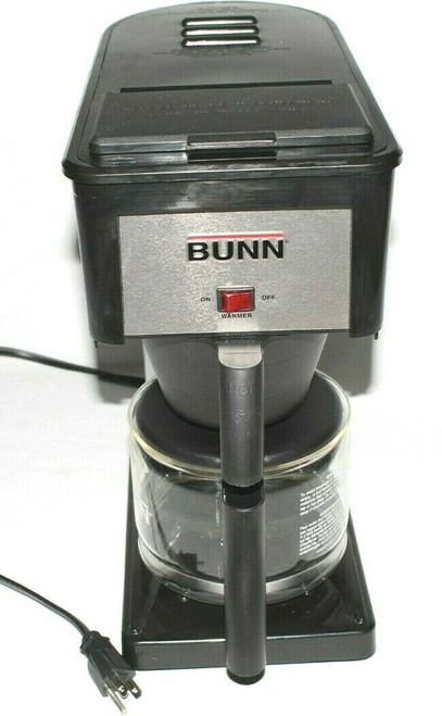 Bunn Velocity Brew 10-Cup Home Coffee Brewer Maker Stainless Black BX-B - Used