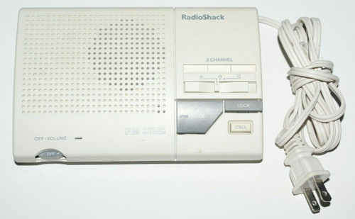 1 Radio Shack Wireless Intercom System 43-490 - Used