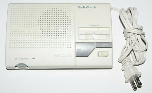 1 Radio Shack Wireless Intercom System 43-490 - Used