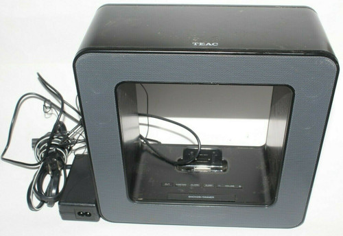 Teac SR-LUXi Table Top Audio Speaker with Room Lamp (Black) - Used