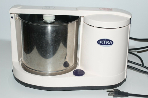 ELGI Ultra Dura + Table Top Wet Stone Grinder  with Atta Kneader 110v - Used