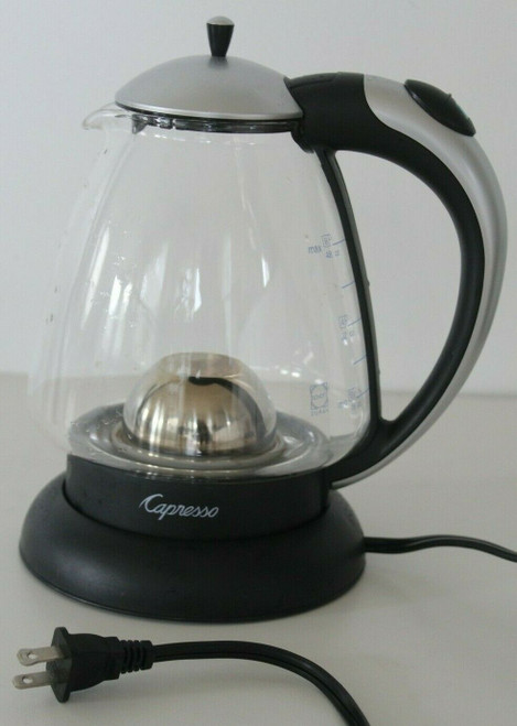 Jura Capresso H2O Plus Glass Hot Water Tea Kettle Jura 259 - Used