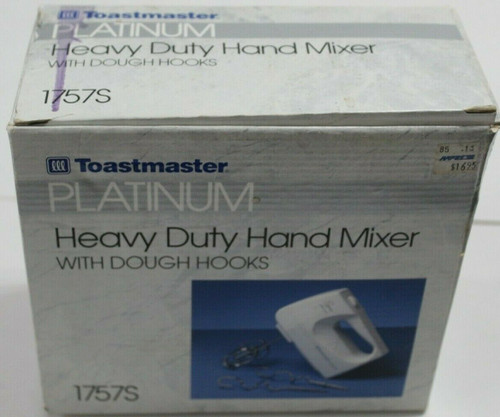 Toastmaster 1757S Hand Mixer - New